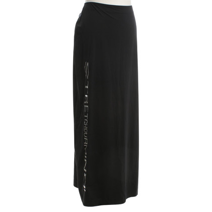 Moschino Maxi skirt in black