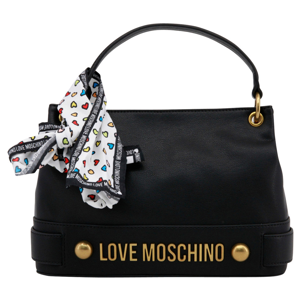 moschino love handtasche und tuch second hand moschino love handtasche und tuch gebraucht. Black Bedroom Furniture Sets. Home Design Ideas
