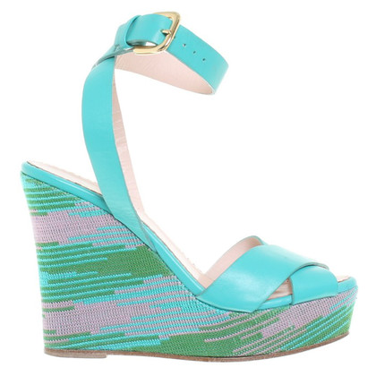 Missoni Farbenfrohe Wedges