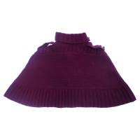 Diane von Furstenberg purple cape/bolero