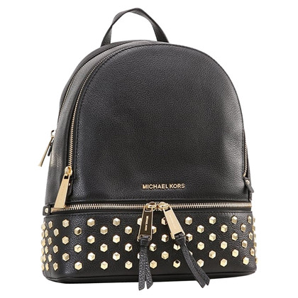 Michael Kors Backpack with gold studs