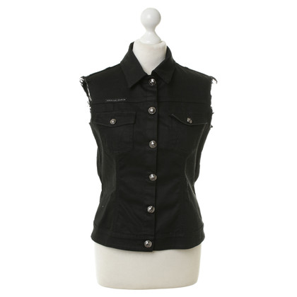 Philipp Plein Vest in used look