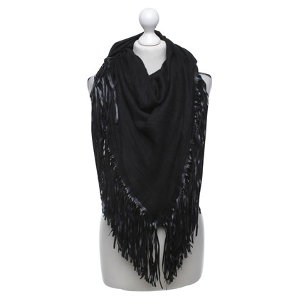 Other Designer IKKS scarf with fringes