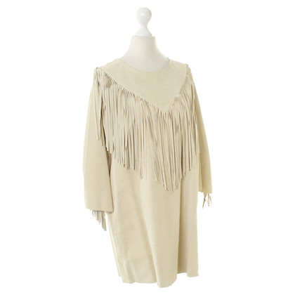 Isabel Marant Leather dress in beige