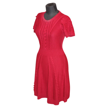 Alice By Temperley Knitted Dress in Red