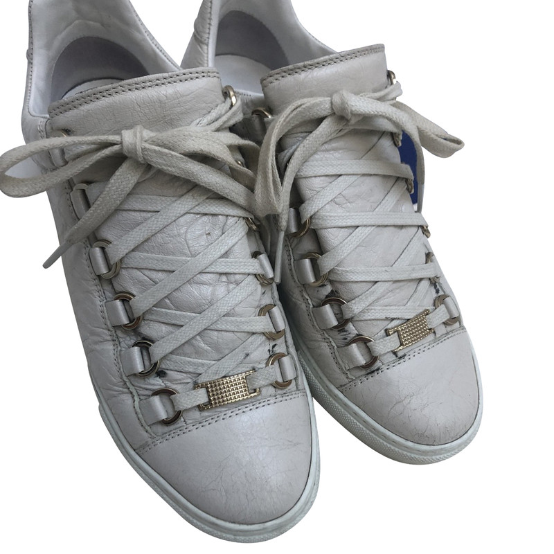 Balenciaga Trainers Leather in Beige