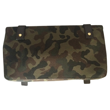 Giuseppe Zanotti Clutch mit Camouflage-Muster