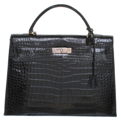 "Hermès ""Kelly Bag 35"" in pelle di coccodrillo"
