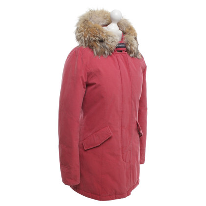 """Woolrich """"Arctic Parka"""" in rosso"""