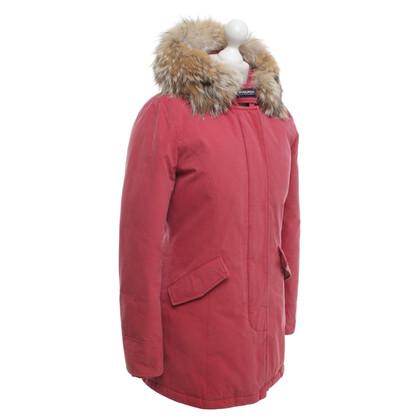 Woolrich « Arctic Parka » en rouge