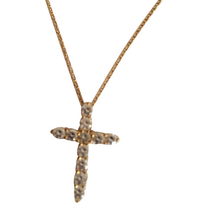 Tiffany & Co. Gold necklace with cross
