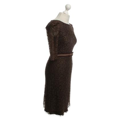 Other Designer Colette Dinnigan - lace dress in Brown