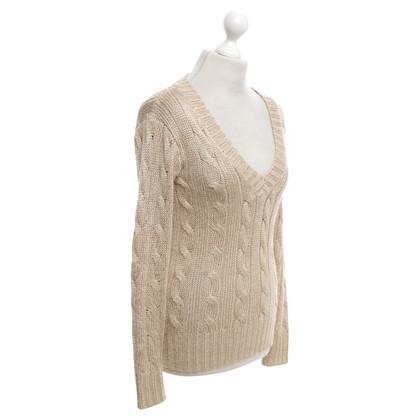 Ralph Lauren maglione maglia in beige