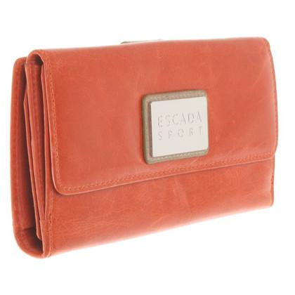 Escada Wallet in Orange
