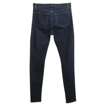 J Brand Skinny-Jeans in Blau