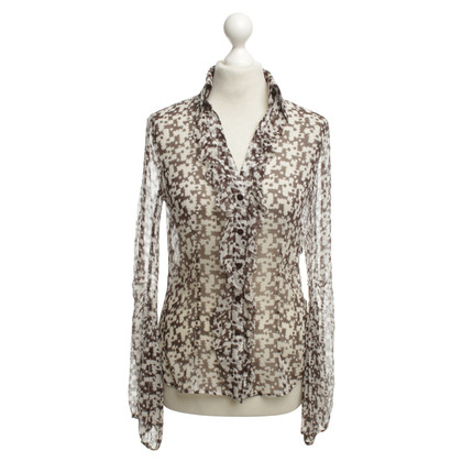 Escada Silk blouse with patterns