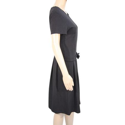 Agnès B. Kleid in Schwarz/Weiß