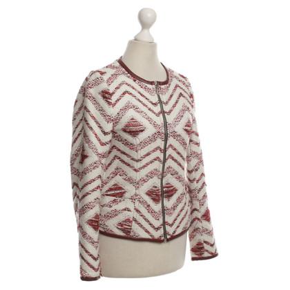 Andere Marke C'est tout - Jacke mit roten Details