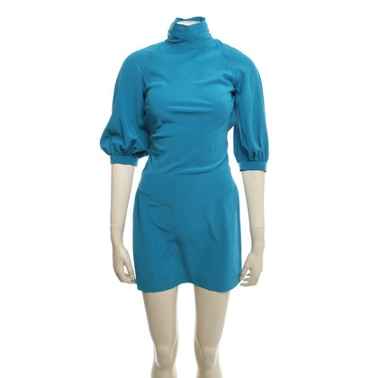 Louis Vuitton Silk dress in turquoise
