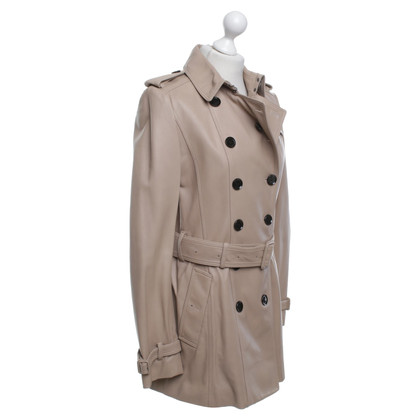 Burberry Short coat made of soft leather