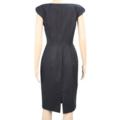 L.K. Bennett Wollen jurk in zwart