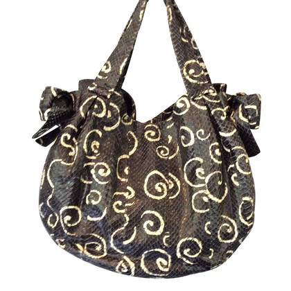 Miu Miu Handtasche aus Pythonleder