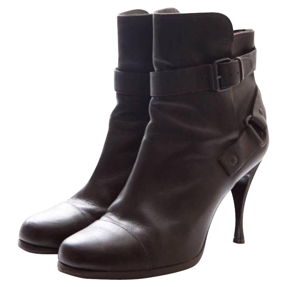 Balenciaga Black leather boots