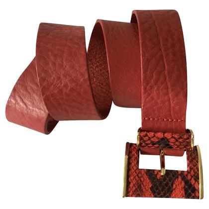 Ted Baker Red leather belt