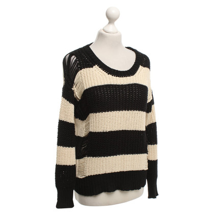 Sandro Knit sweater with stripes