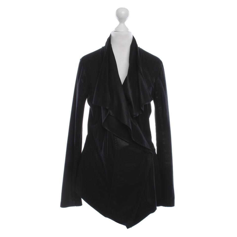 marc cain jacket in black buy second hand marc cain. Black Bedroom Furniture Sets. Home Design Ideas