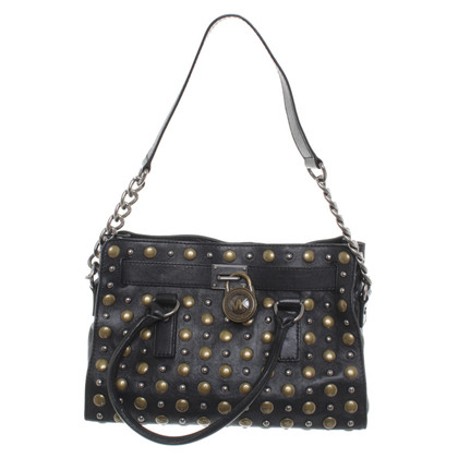 Michael Kors Leather bag with rivets