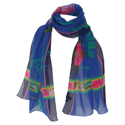 Leonard silk scarf with print