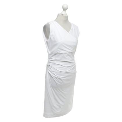 René Lezard Kleid in Weiß