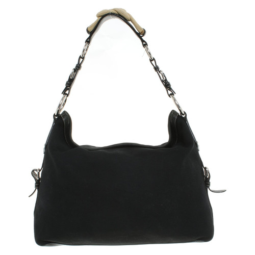 04f88104a469 Prada Shoulder bag in black - Second Hand Prada Shoulder bag in ...
