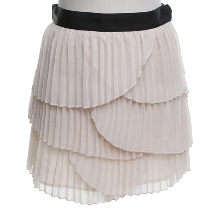 Max & Co Pleated skirt with flounces