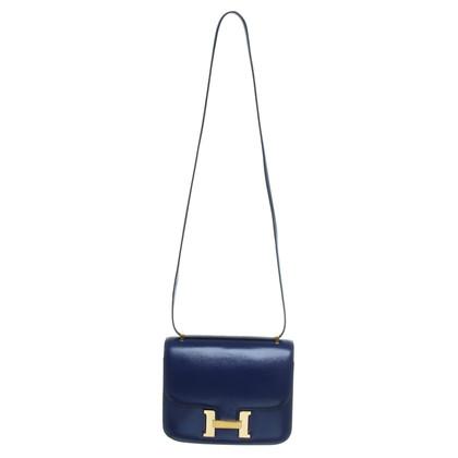 Hermès Constance Tas in blauw