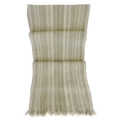 Loro Piana Scarf in beige/Green