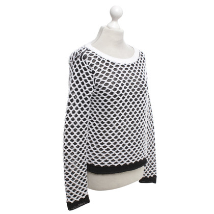 Rag & Bone Sweater in black and white