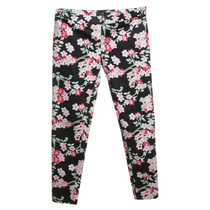 Armani Jeans trousers with floral pattern