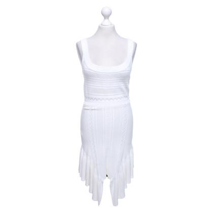 Alice McCall Abito in maglia di colore bianco