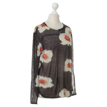 Isabel Marant Etoile Lange mouwen shirt met print