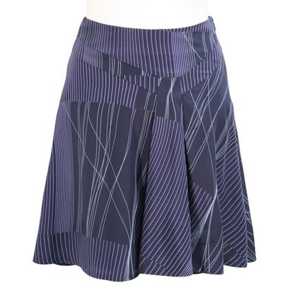 Calvin Klein Silk skirt in blue