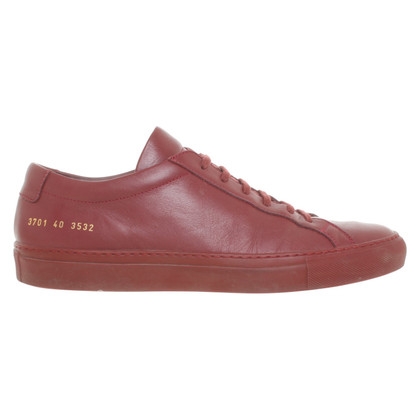 Common Projects Schnürschuhe in Rot