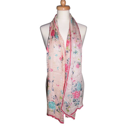 John Galliano Floral scarf