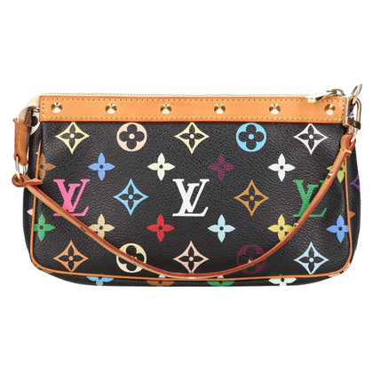 "Louis Vuitton ""Pochette-accessoires Monogram Multicolore Canvas"""