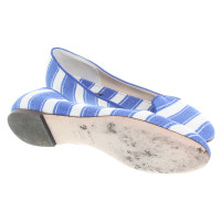 Dolce & Gabbana Loafers in blue/white