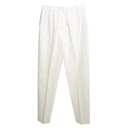 Hermès Pantaloni in crema