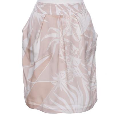 Stella McCartney Silk skirt in pink