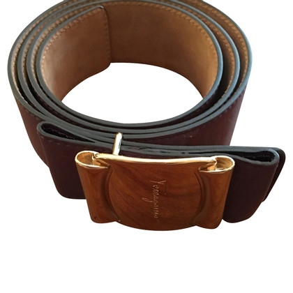 Salvatore Ferragamo Belt made of leather