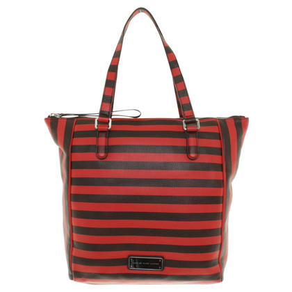 Marc by Marc Jacobs Handtasche in Streifen-Optik